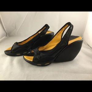 Cole Haan Air Nike Wedge Heels Sandals